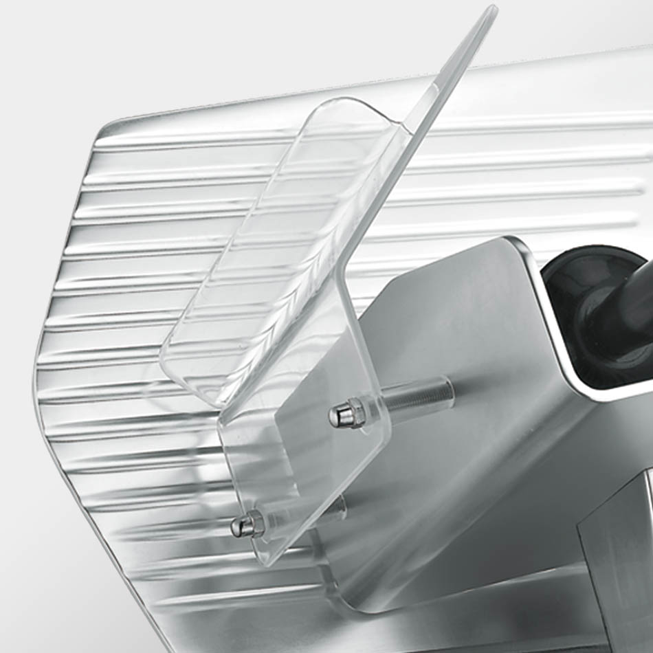 KWS Meat slicer Prodcut tray Detail