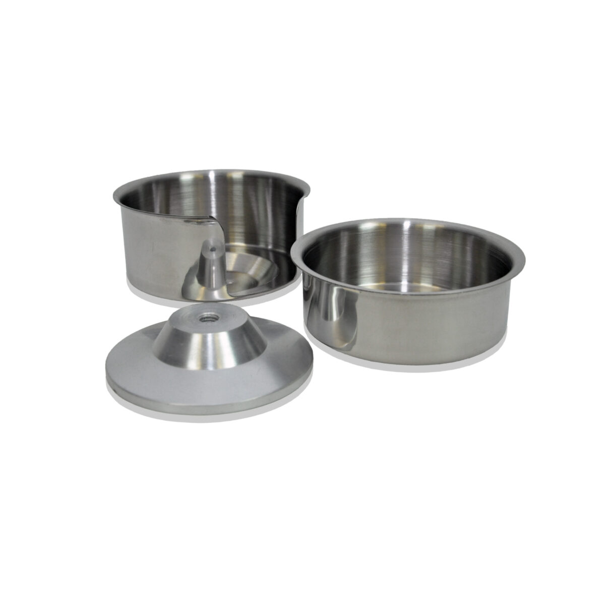 "Hamburger Patty Press 4"" bowl set"