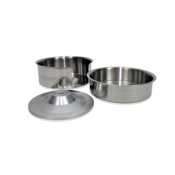 "Hamburger Patty Press 5"" bowl set"